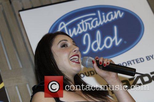 Natalie Gauci, winner Australian Idol 2007 Grand Final...