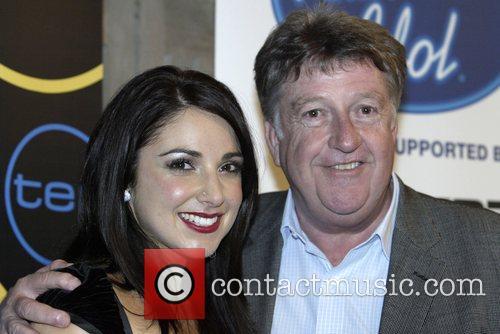 Natalie Gauci, winner of Australian Idol 2007, with...