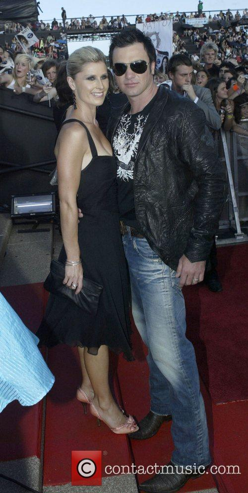 Shannon Noll and Rochelle Ogsten