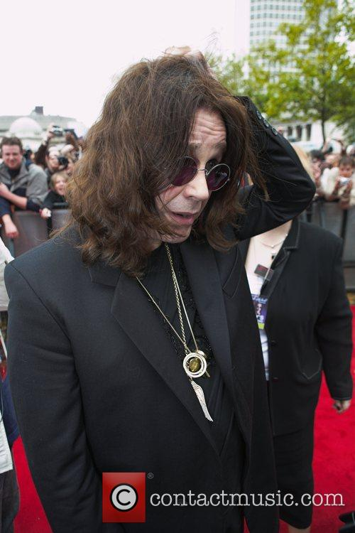 Ozzy Osbourne in Birmingham to receive the first...
