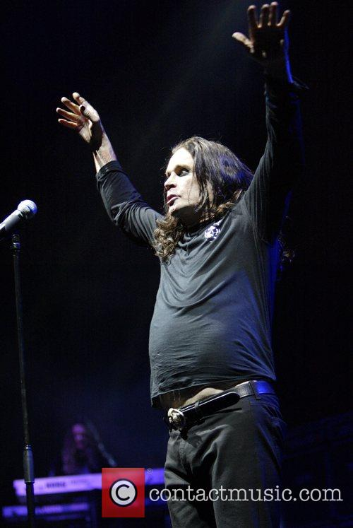 Ozzy Osbourne, his band performing live in concert at Acer Arena and Acer Arena 22