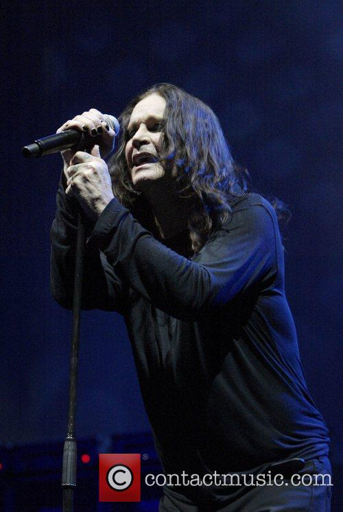 Ozzy Osbourne, his band performing live in concert at Acer Arena and Acer Arena 24
