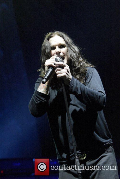 Ozzy Osbourne, his band performing live in concert at Acer Arena and Acer Arena 14