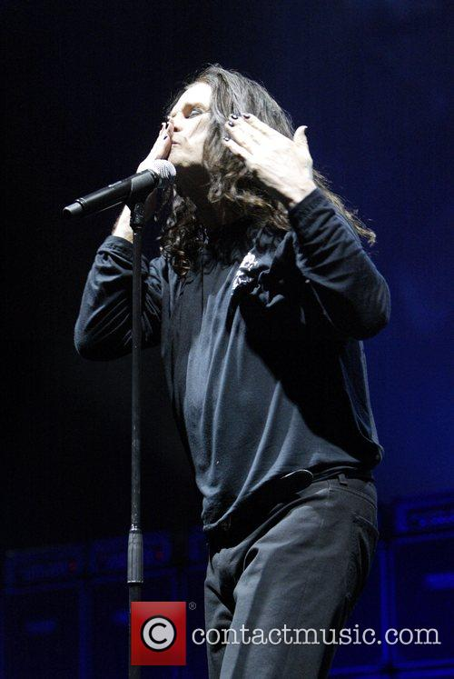 Ozzy Osbourne, his band performing live in concert at Acer Arena and Acer Arena 16