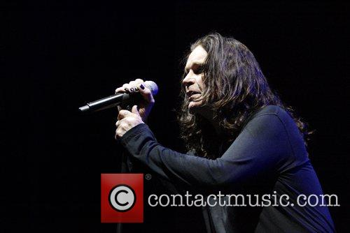 Ozzy Osbourne, his band performing live in concert at Acer Arena and Acer Arena 18