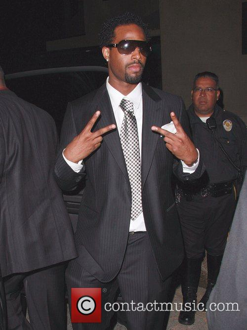 Jamie Foxx arrives at a private estate to...