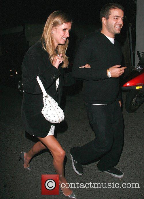 Nicky Hilton and David Katzenburg arrives at a...