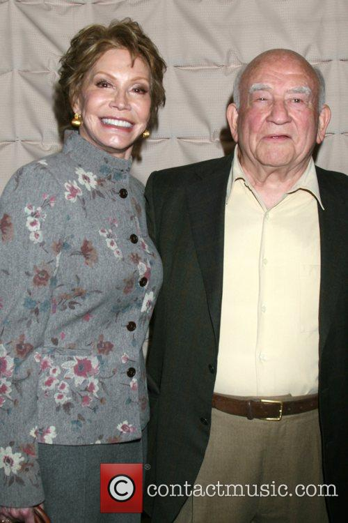 Mary Tyler Moore and Ed Asner 10