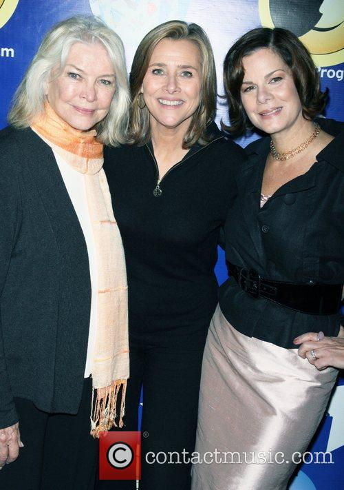 Ellen Burstyn, Marcia Gay and Meredith Vieira 7
