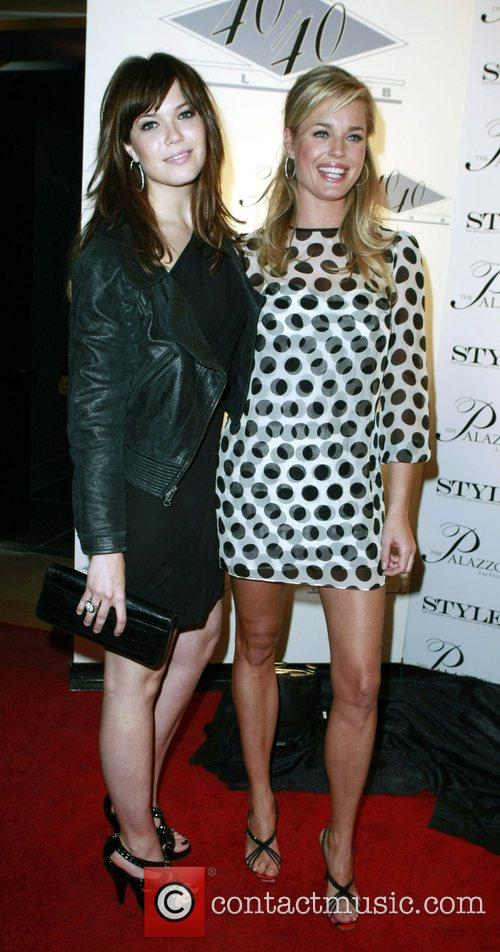 Mandy Moore and Rebecca Romjin arrive at the...