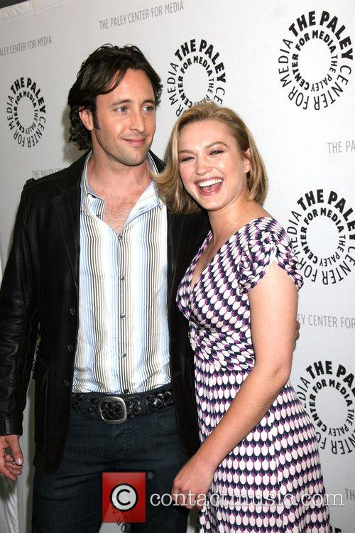 Sophia Myles and Alex O'Loughlin Paley Center for...