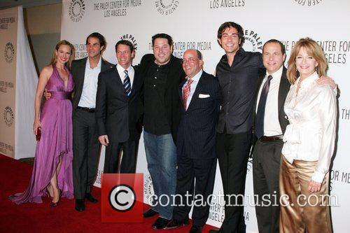 NBC Executives & Melora Hardin, Greg Grunberg, Zachary...