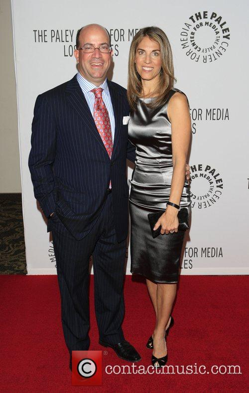 Jeff Zucker and wife Caryn The Paley Centre...