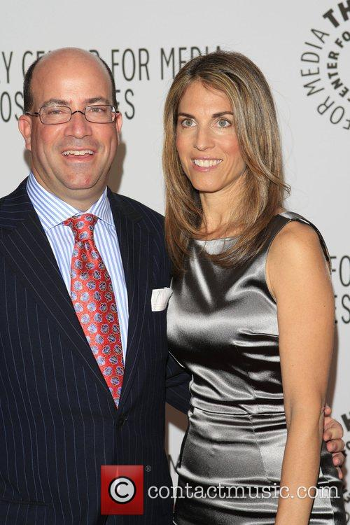 Jeff Zucker with Wife Caryn The Paley Centre...