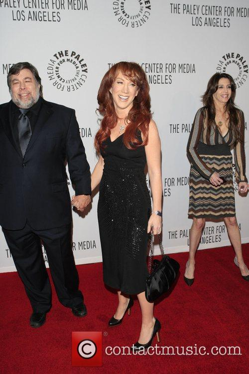 Kathy Griffin and Steve Wozniak The Paley Centre...