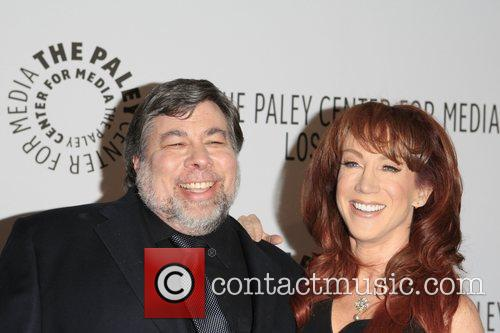 Steve Wozniak and Kathy Griffin The Paley Centre...