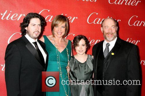 Jason Reitman, Allison Janney, Ellen Page and J.K....