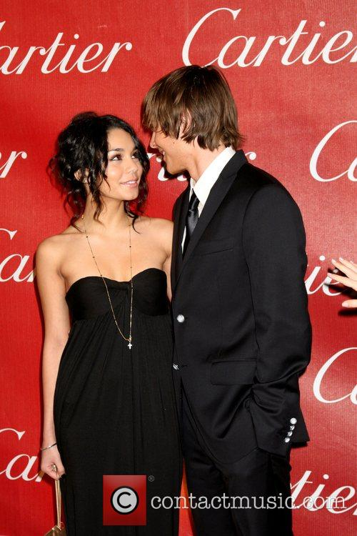 Vanessa Hudgens and Zac Efron 19th annual Palm...