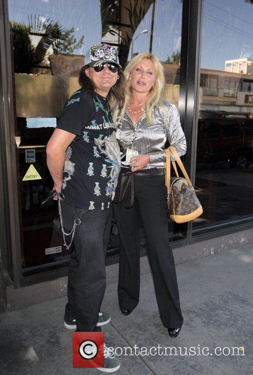 Pamela Bach with her new boyfriend TMZ videographer...