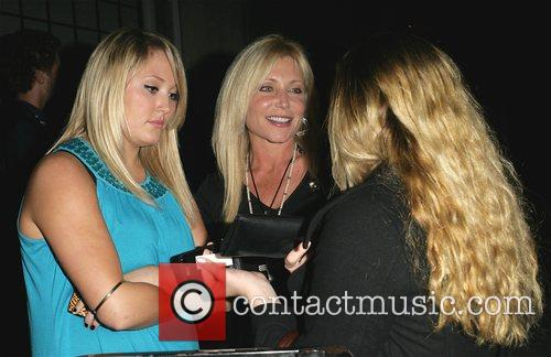 Pamela Bach with daughters Hayley Hasselhoff and Taylor...