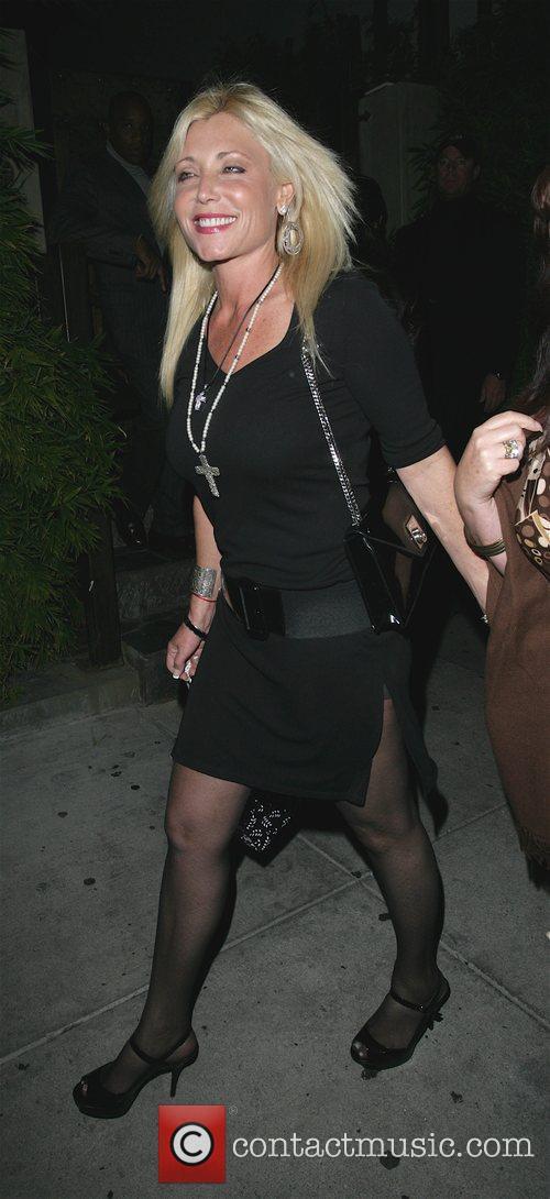 Pamela Bach Outside Koi Restaurant 1