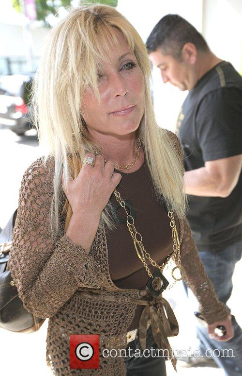 Pamela Bach  spotted out and about on...