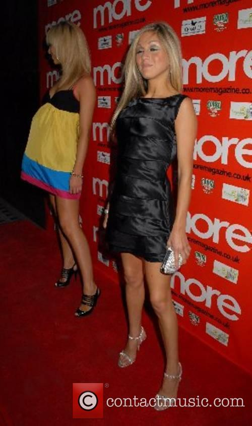 Nikki Grahame at the More Party held at...
