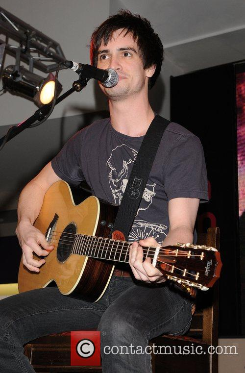 'Panic! at the Disco' performs at HMV on...