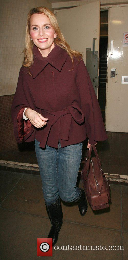 Home » Debra Stephenson » Debra Stephenson Leaving The Theatre Royal ...