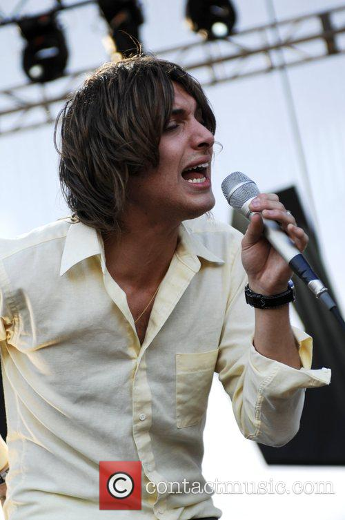 Paolo Nutini  performing live on the Billboard/Playstation...