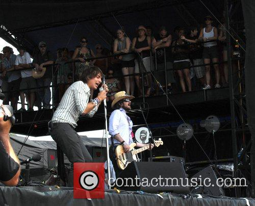 Paolo Nutini performs live at the ACL Festival...