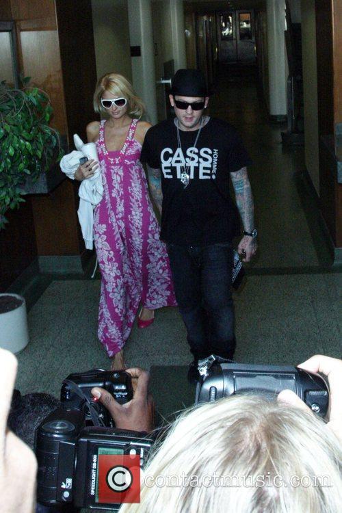Paris Hilton and Benji Madden 9