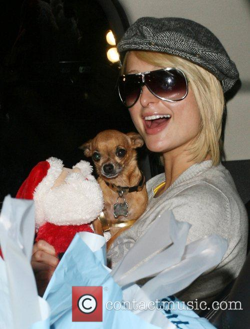 Paris Hilton shopping at Kitson on Robertson changing...