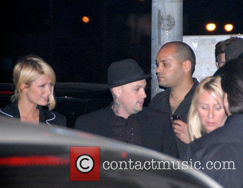 Paris Hilton, Benji Madden and Good Charlotte 2