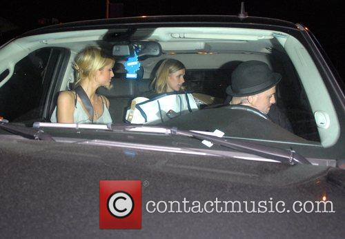 Paris Hilton, Benji Madden, Good Charlotte and Nicky Hilton 3