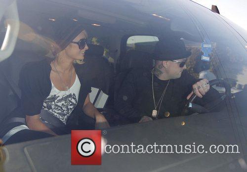 Paris Hilton and her new boyfriend Benji Madden...