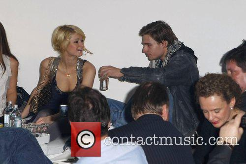 Paris Hilton and German Model Julian Feitsma 3