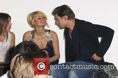 Paris Hilton and German Model Julian Feitsma 4