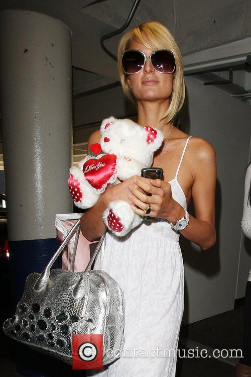 Paris Hilton goes furniture shopping at Cozi Couch...