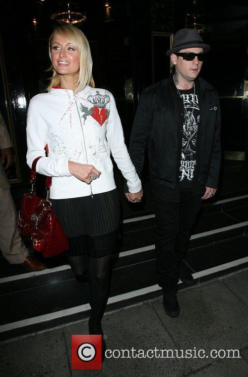 Paris Hilton and Benji Madden 3