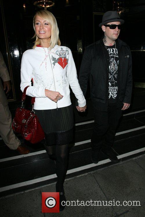 Paris Hilton and Benji Madden 14