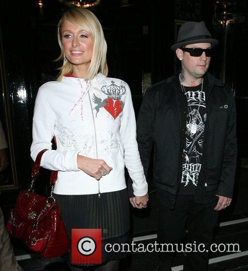 Paris Hilton and Benji Madden 2