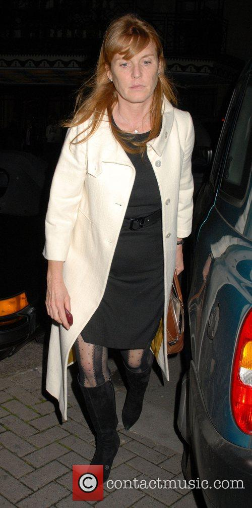 Sarah Ferguson leaving the Dorchester Hotel  London,...