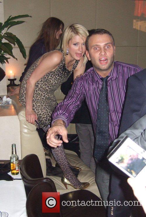 Paris Hilton and Felix CEO Daniel Hoeferlin at...
