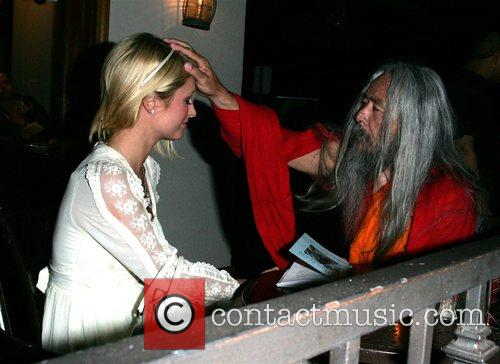 Is seen out with a Shaman who is...