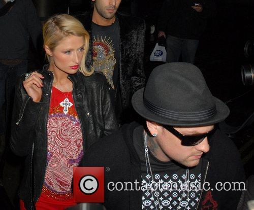 Paris Hilton and Benji Madden 4