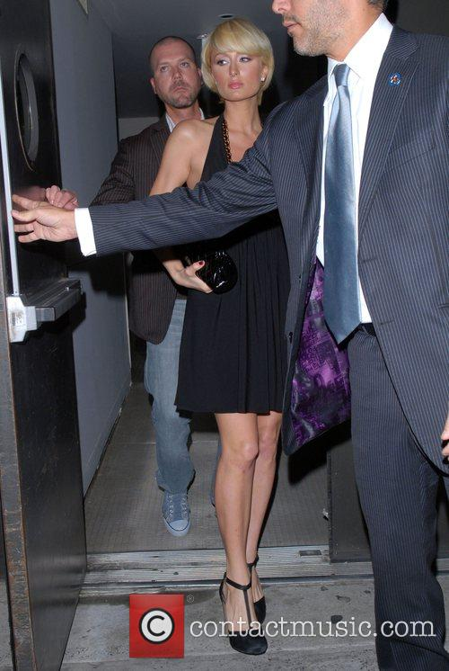 Leaving her Manhattan hotel