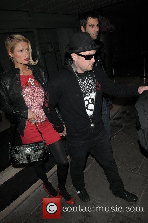 Paris Hilton, Benji Madden and Good Charlotte 9