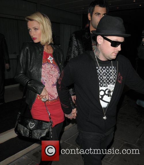 Paris Hilton, Benji Madden and Good Charlotte 11
