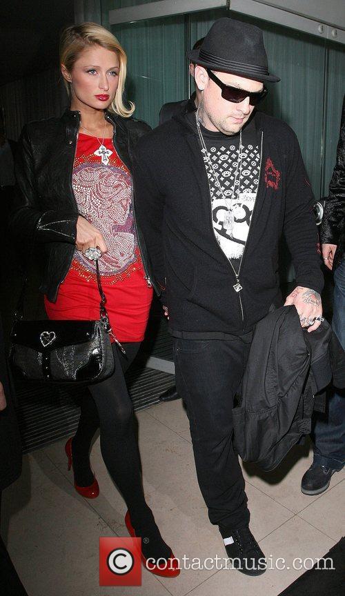 Paris Hilton, Benji Madden and Good Charlotte 1